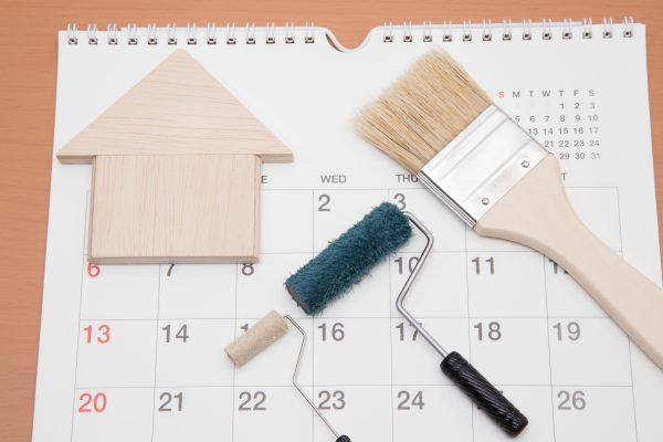 塗装にかかる期間はどれくらい?塗装工事中の生活で気をつるポイント