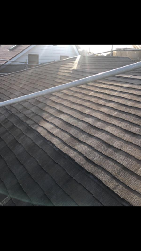 屋根塗装完了しました!サムネイル