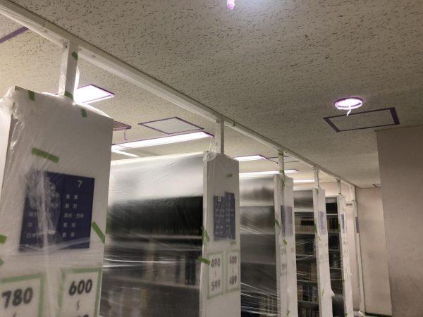 内部天井塗装工事サムネイル